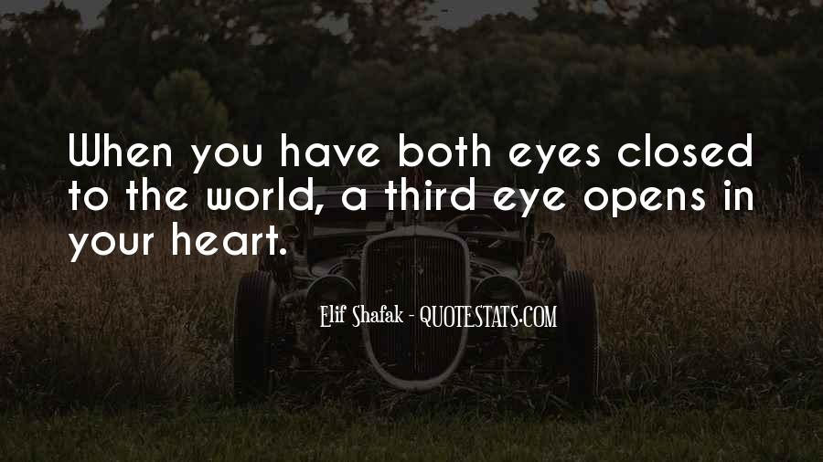 Eyes Closed Love Quotes #686180