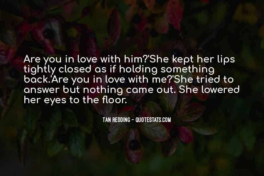 Eyes Closed Love Quotes #80410