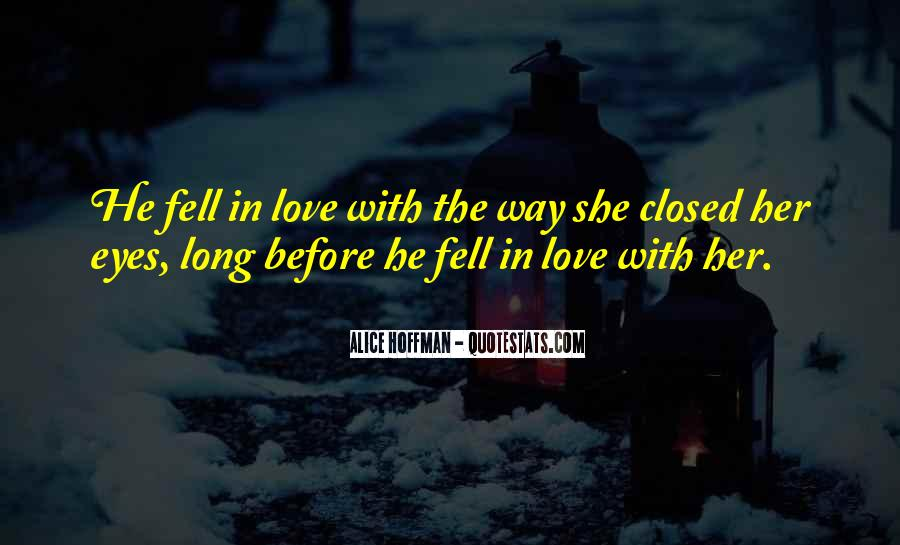Eyes Closed Love Quotes #906719