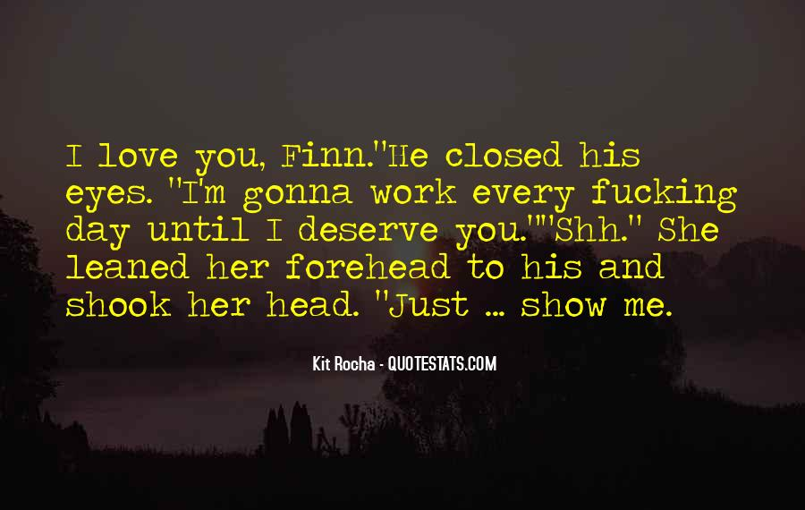 Eyes Closed Love Quotes #970051