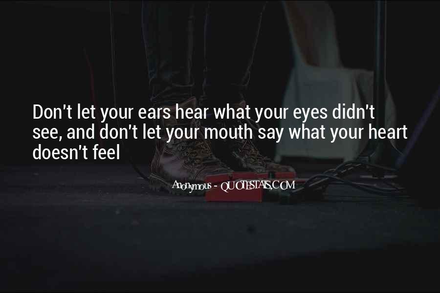 Eyes Say Something Quotes #1148