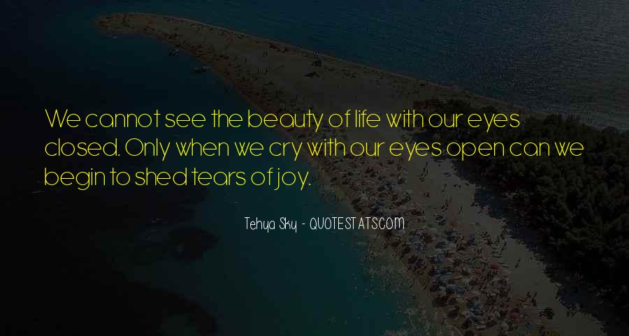 Eyes See Beauty Quotes #1235126
