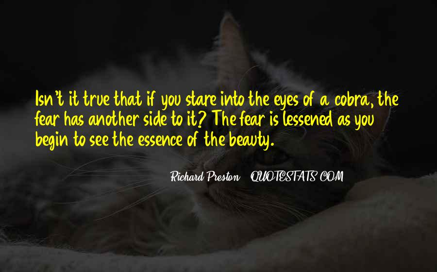 Eyes See Beauty Quotes #1339448