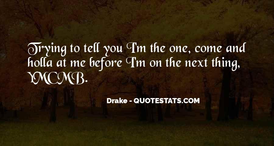 F.m Drake Quotes #49268