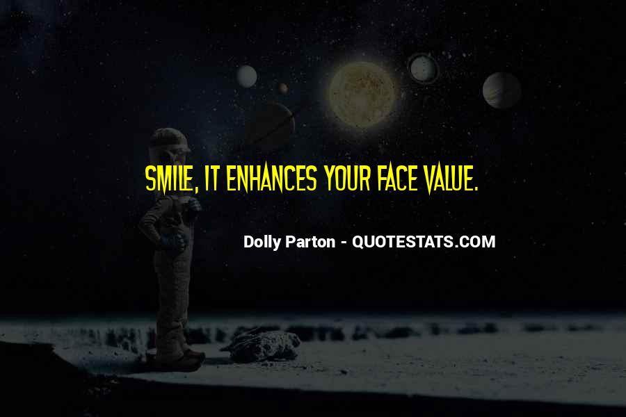 Face Smile Quotes #203107