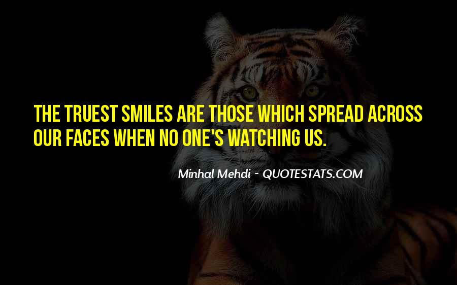 Face Smile Quotes #204341