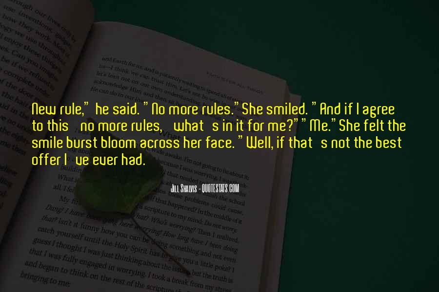 Face Smile Quotes #263161