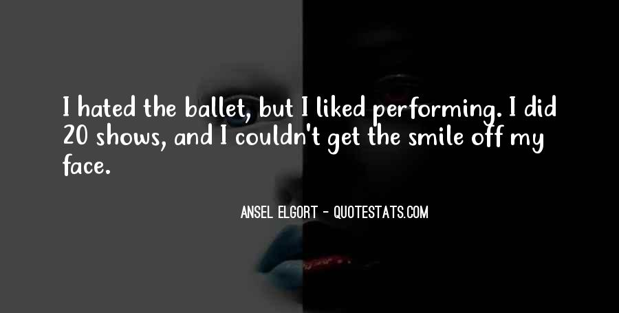 Face Smile Quotes #265200