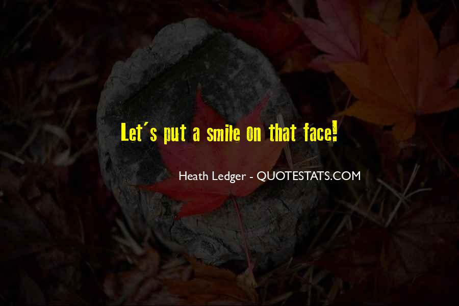 Face Smile Quotes #265259