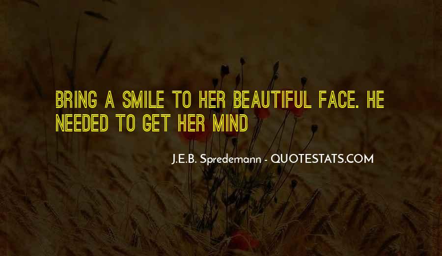 Face Smile Quotes #273219
