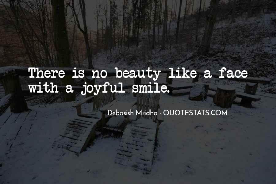 Face Smile Quotes #28824