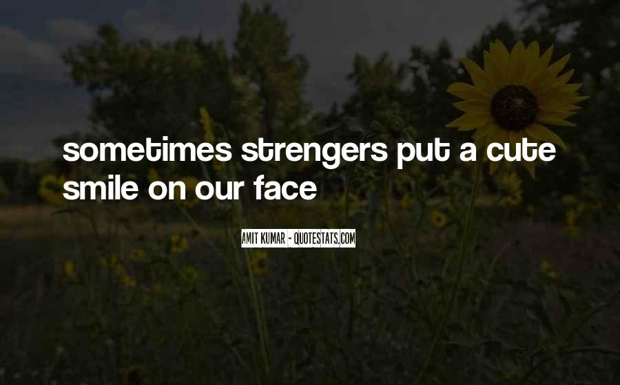 Face Smile Quotes #66458