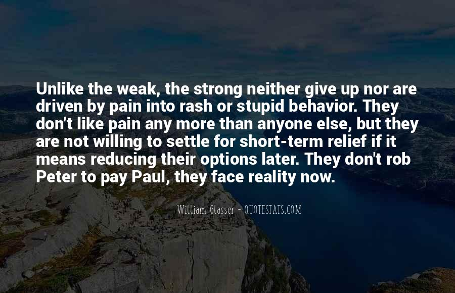 Face The Pain Quotes #243968