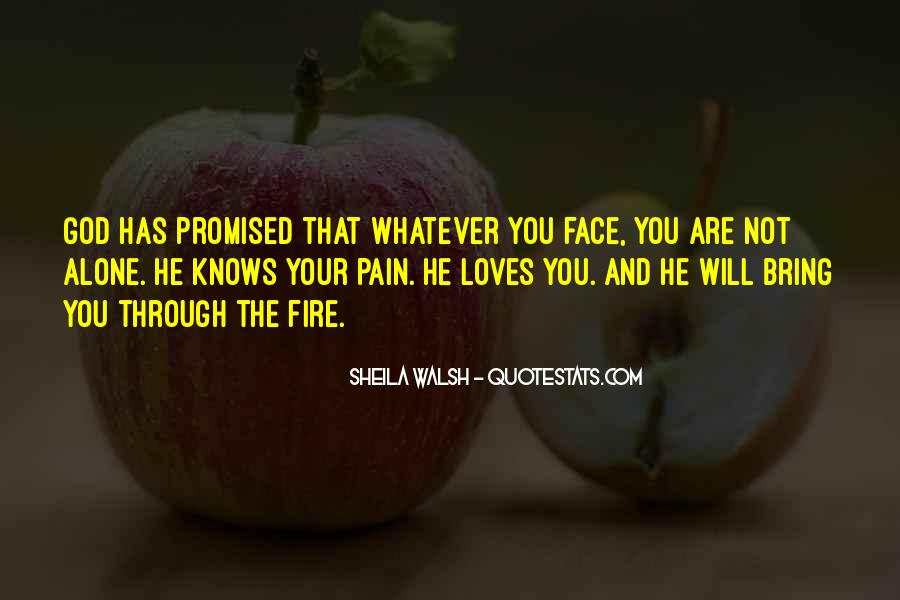 Face The Pain Quotes #438401
