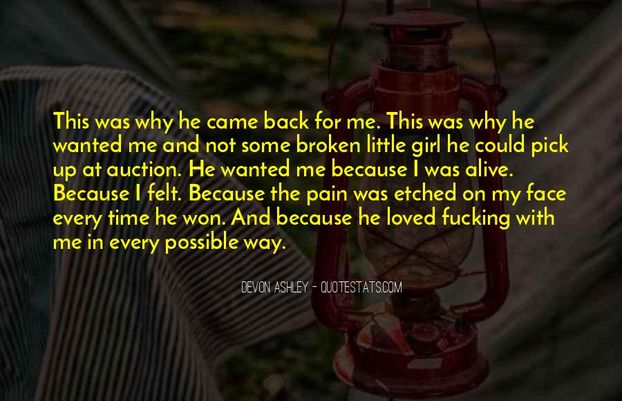 Face The Pain Quotes #501393