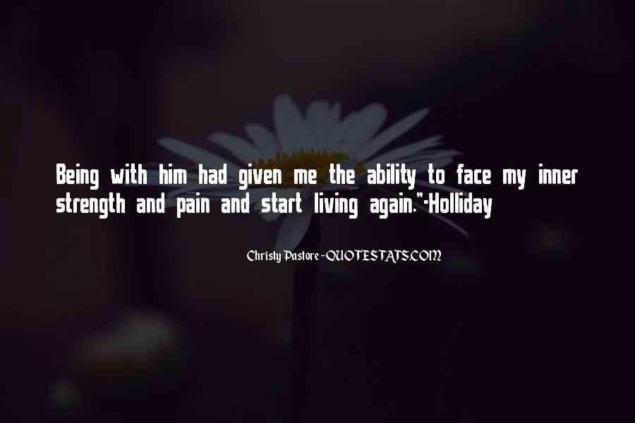 Face The Pain Quotes #617222