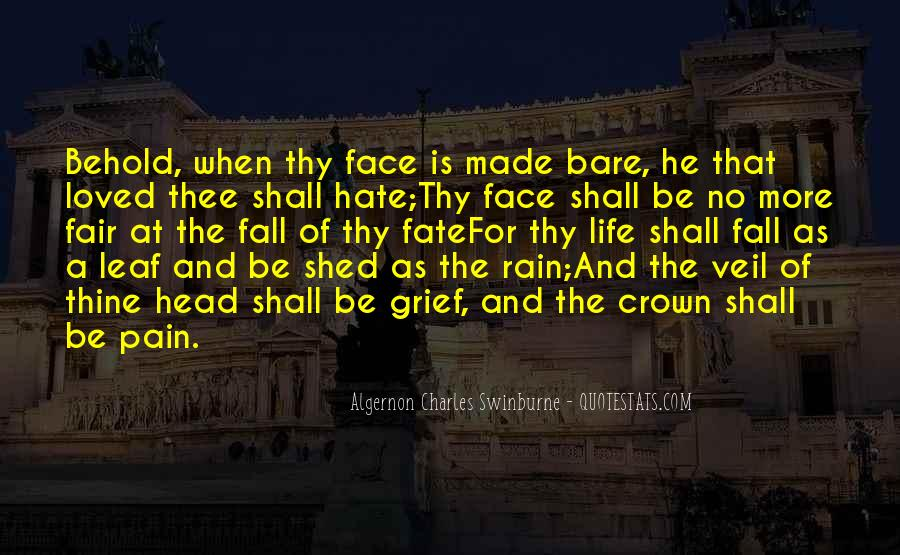 Face The Pain Quotes #805071