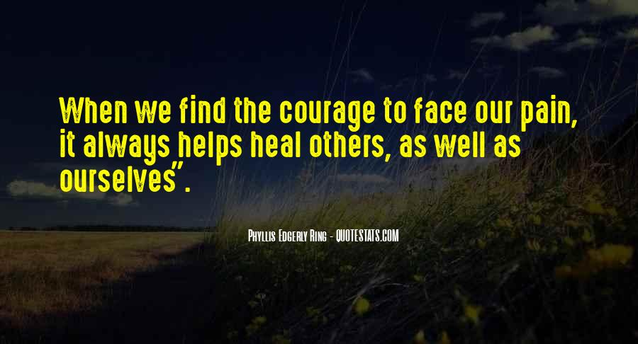 Face The Pain Quotes #815367