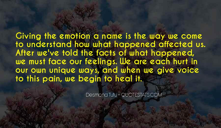 Face The Pain Quotes #851939