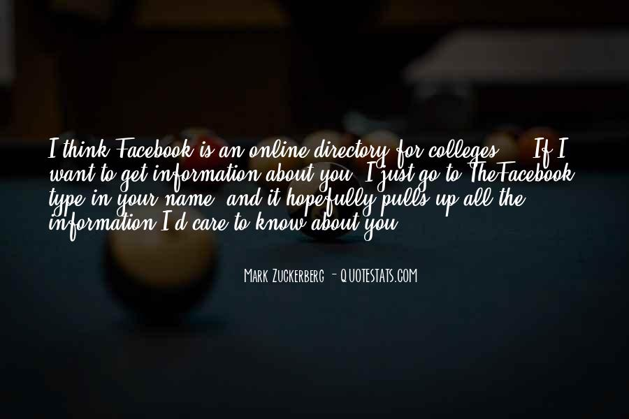 Facebook Know It All Quotes #1451597