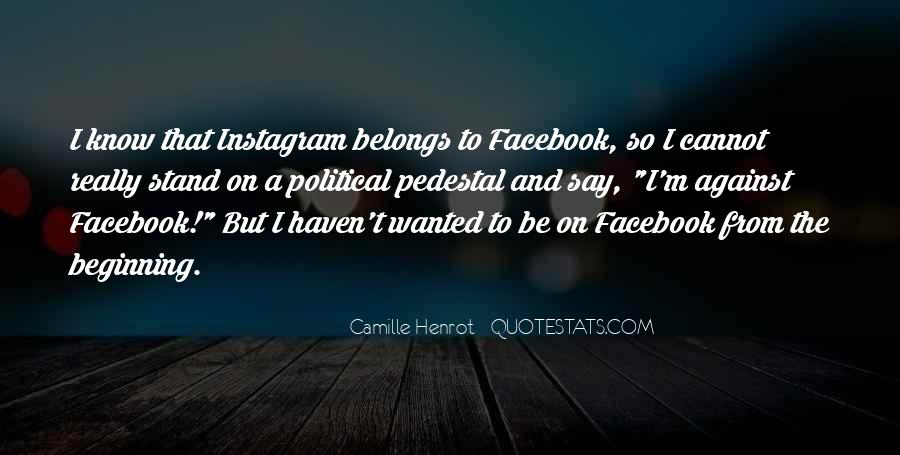 Facebook Know It All Quotes #161959