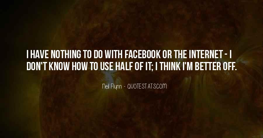Facebook Know It All Quotes #213547