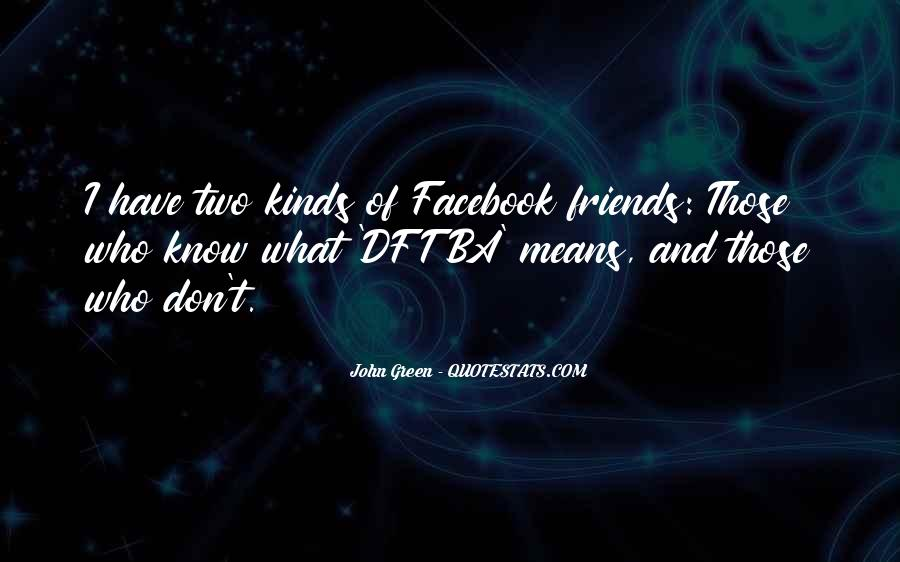 Facebook Know It All Quotes #351009