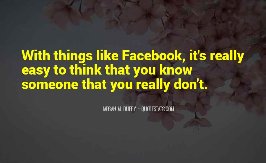 Facebook Know It All Quotes #421010