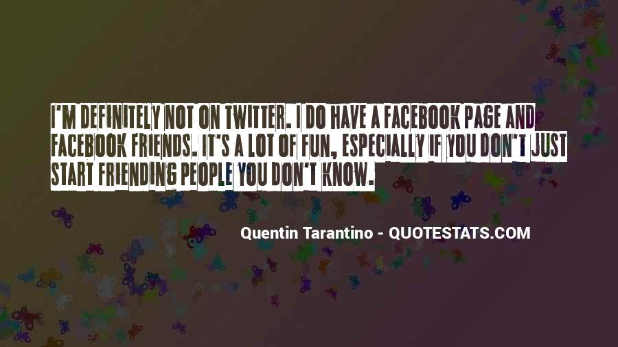Facebook Know It All Quotes #51615