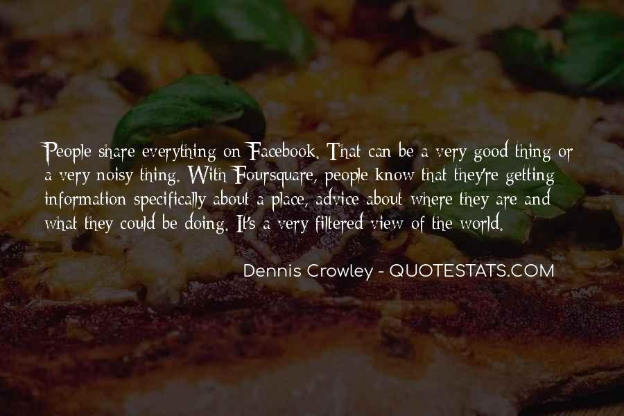 Facebook Know It All Quotes #569339