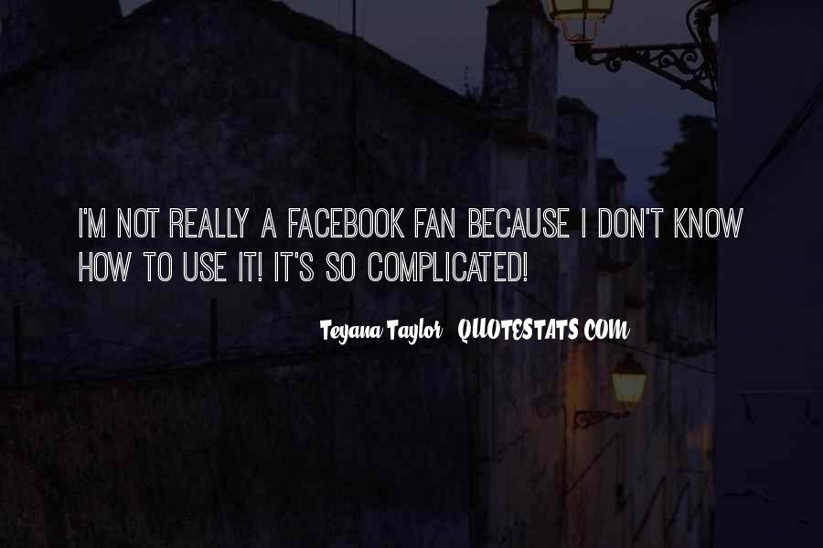 Facebook Know It All Quotes #591747