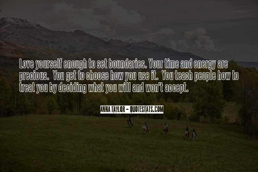 Quotes About How To Treat People You Love #1805005