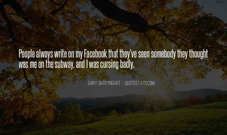 Facebook Seen Quotes #1875055