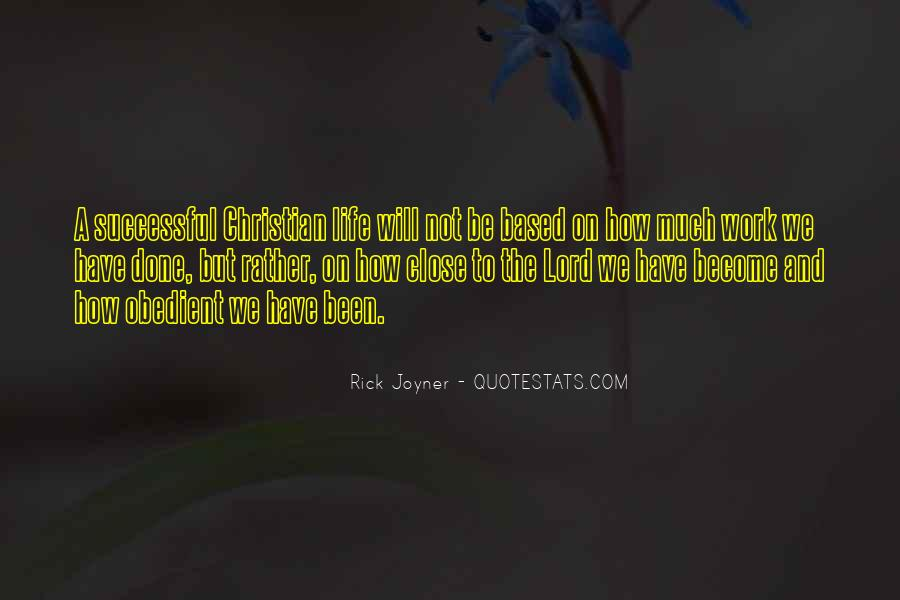 Quotes About How To Be Successful #25138
