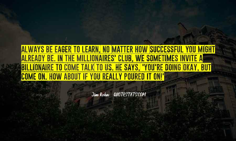 Quotes About How To Be Successful #92188