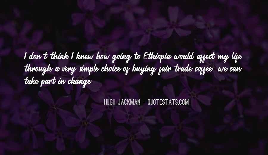 Fair Trade Coffee Quotes #1127833