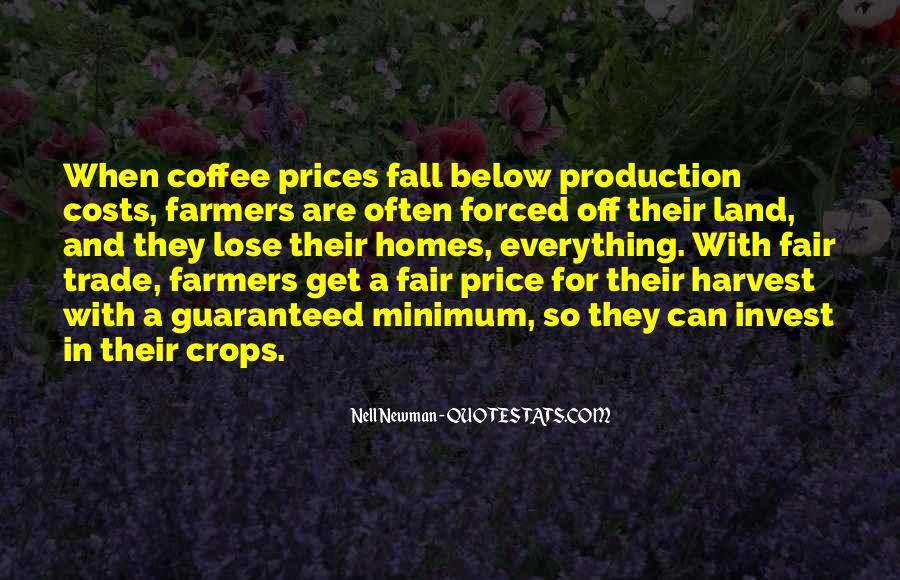 Fair Trade Coffee Quotes #138272