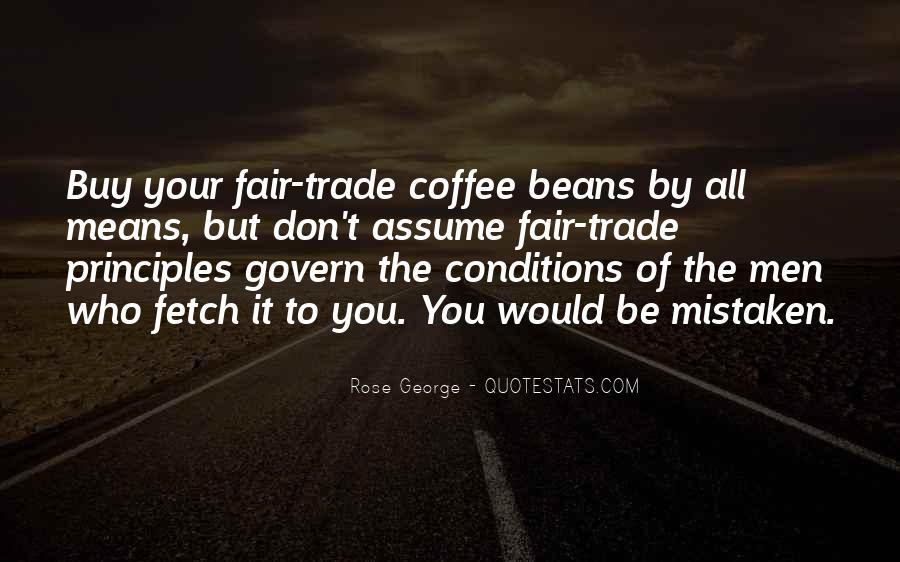 Fair Trade Coffee Quotes #1607811