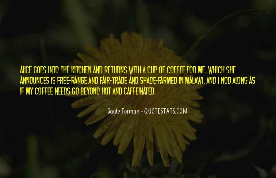 Fair Trade Coffee Quotes #580846