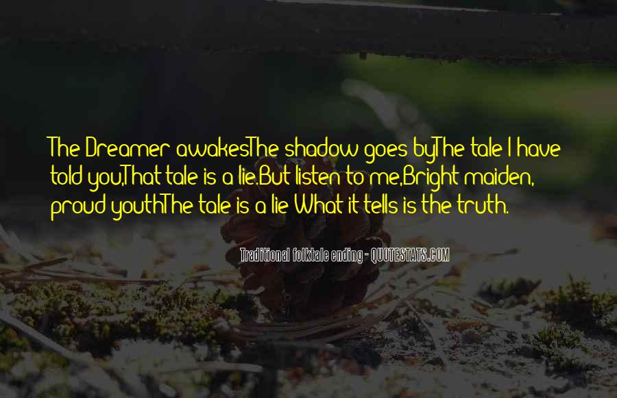 Fairy Tales Ending Quotes #1014116
