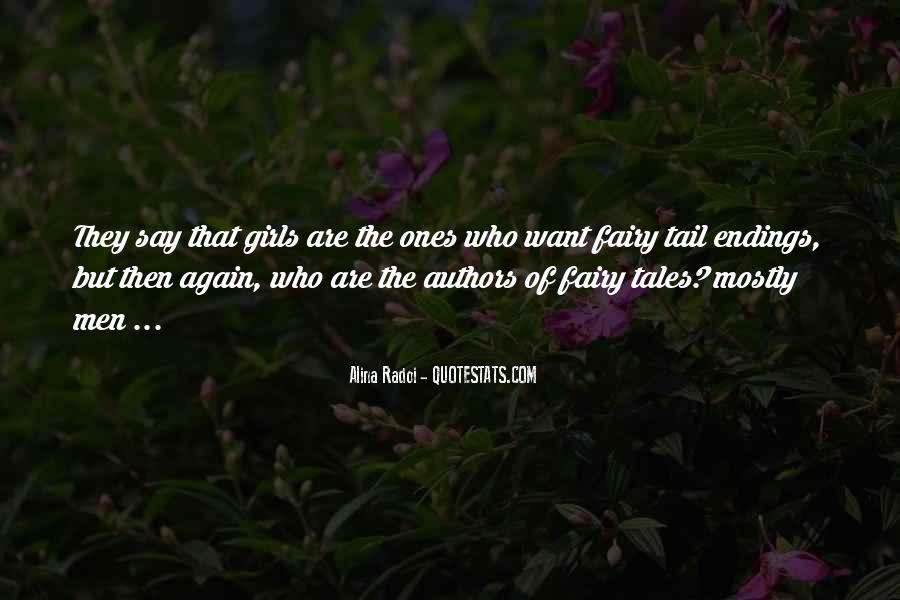 Fairy Tales Ending Quotes #1605499