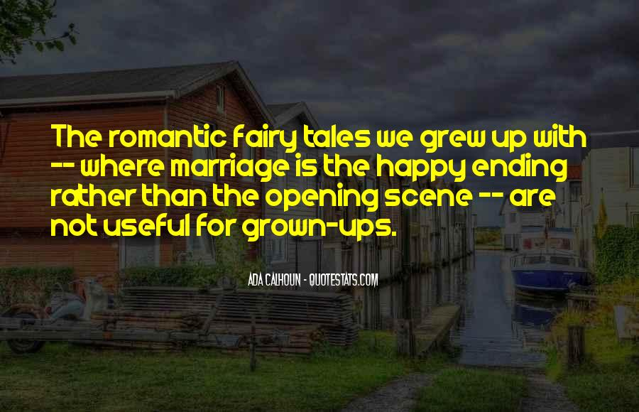 Fairy Tales Ending Quotes #1796932
