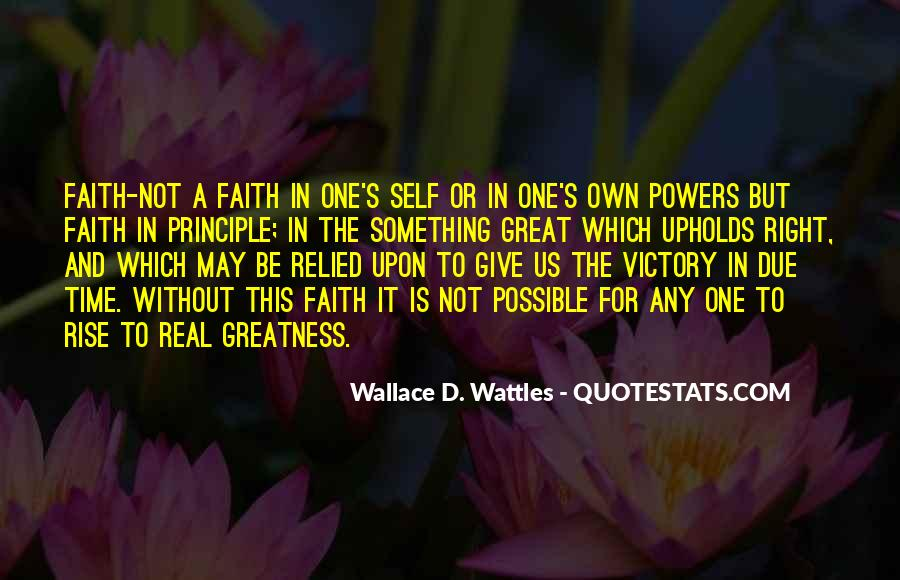 Faith In One's Self Quotes #1607158