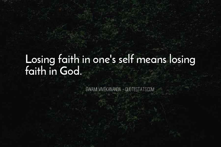 Faith In One's Self Quotes #716759