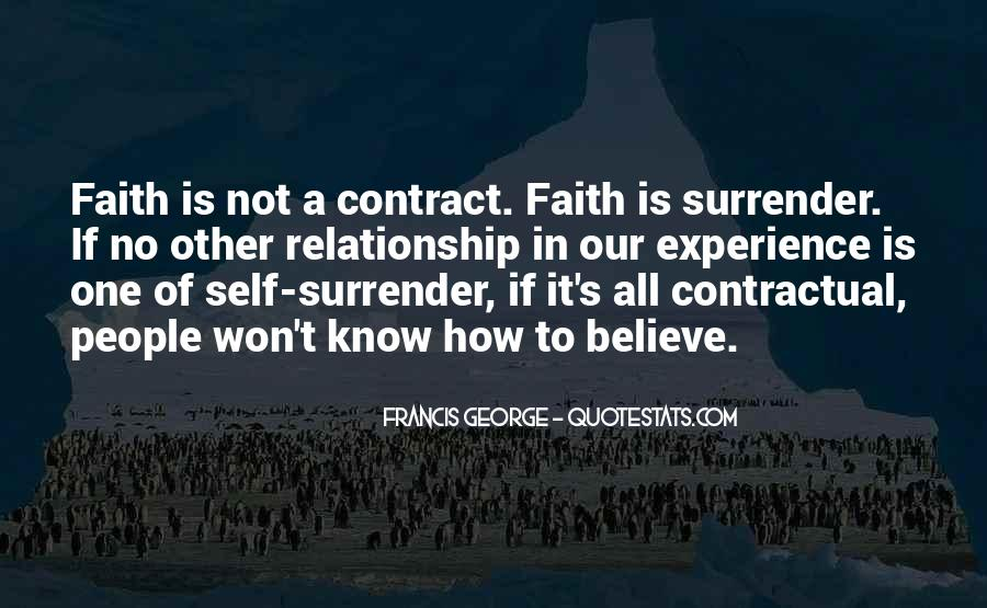 Faith In One's Self Quotes #850687