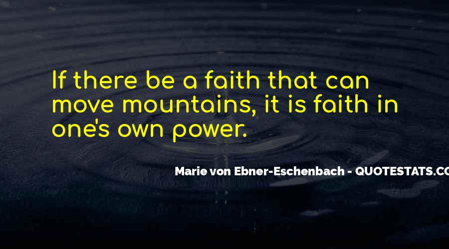Faith In One's Self Quotes #90140