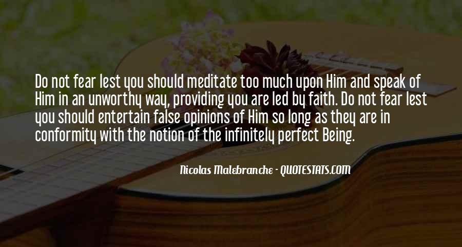 Faith Not Fear Quotes #1139666