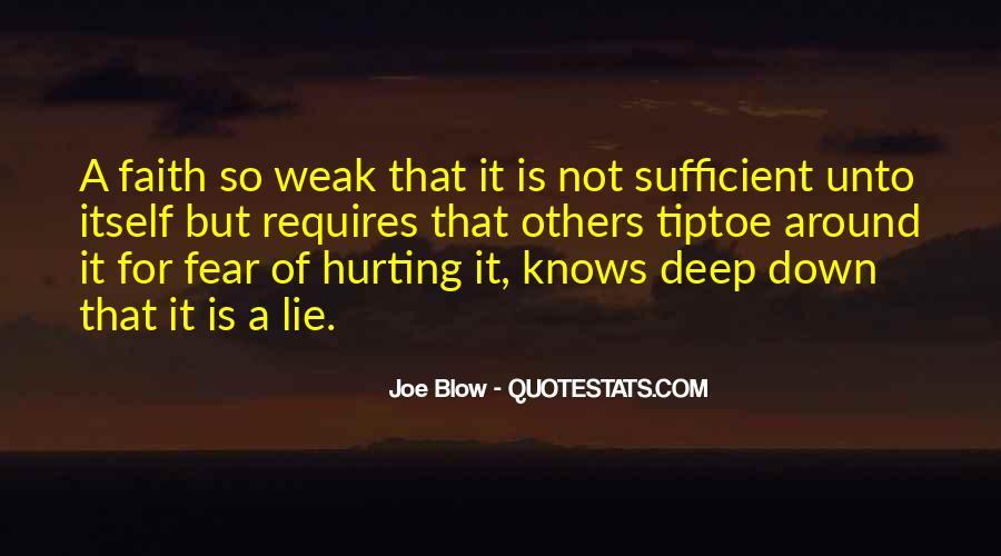 Faith Not Fear Quotes #1173991