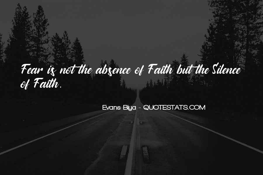 Faith Not Fear Quotes #1222822