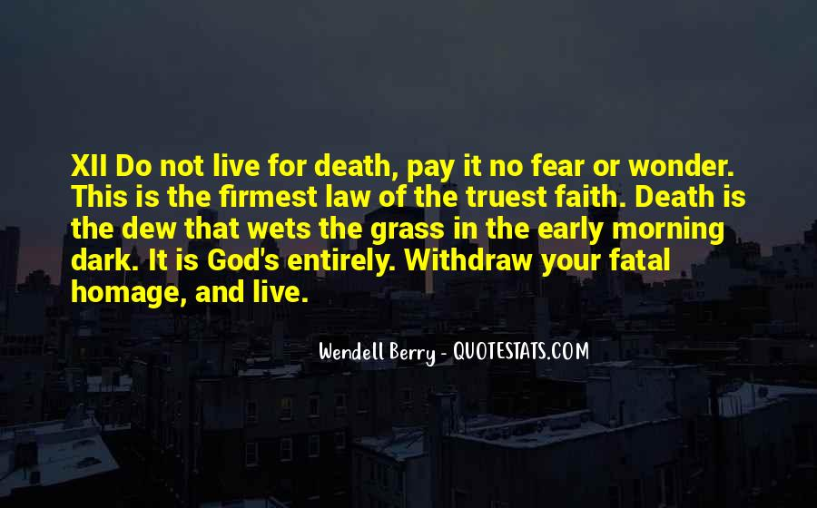 Faith Not Fear Quotes #123981